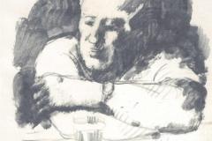 All'osteria - 1954  - 24 x 30