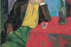 All'osteria - 1953 - Olio su tela 45 x 60