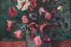 Fiori  - 1967 - Olio su tela - 30 x 40