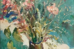 Fiori - 1968 -  Olio
