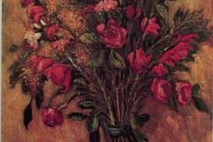 Fiori - 1969 - Olio su tela 60 x 70