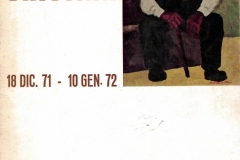 Catalogo della mostra -  1971