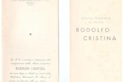 Catalogo della mostra - 1958