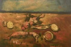 Natura marina -  1973 - Olio su tela -50 x 70