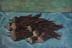 Natura morta - 1965 - Olio su tela
