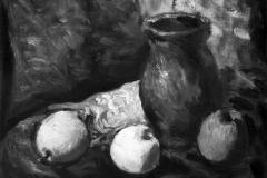 Natura morta - 1974 -Olio su tela