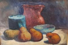 Natura morta con pere - 1978 - Olio su tela 30 x 40