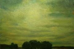 Paesaggio - 1964 - Olio su tela - 50 x 60