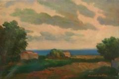 Paesaggio - 1965 - Olio su tela - 40 x 60