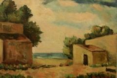 Paesaggio - 1965 - Olio su tela- 50 x 70