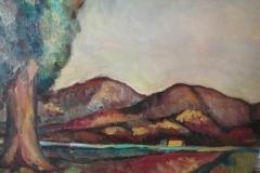 Paesaggio 1964 - Olio su tela -  50 x 70