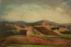 Paesaggio siciliano - 1965 - Olio su tela - 50 x 70
