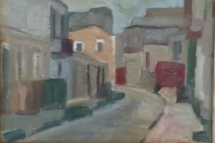 Pozzallo - 1954 -  Olio su tela - 16 x 23