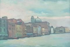 Venezia Canal Grande - 1972 -Olio su tela - 40 x 50